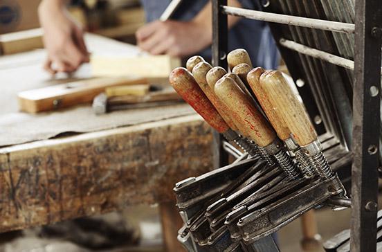 Outils pour travailler le bois